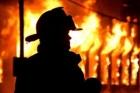 В поселке Восточном произошел сильный пожар