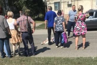 В Бийске сбили девочку-пешехода