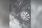 В Алтайском крае авто врезалось в железнодорожный вагон