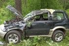 Пьяный мужчина из Барнаула перевернулся на автомобиле в Горном Алтае
