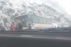 В Республике Алтай в ДТП попал пассажирский автобус