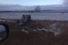 В Алтайском крае перевернулся автомобиль