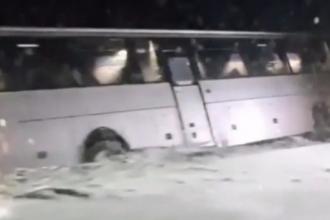 На Алтайской трассе произошло ДТП с пассажирским автобусом