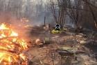 На Алтае чуть не сгорело целое село, погиб человек