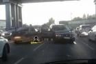 В Барнауле произошло ДТП с участием пяти автомобилей