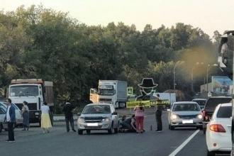 В Барнауле сбили девочку
